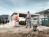Magasnyomású mosó - betonkeverő tisztítás