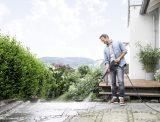 Magasnyomású mosó - térkő tisztítás